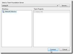 select tfs server 4
