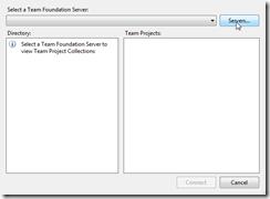 select tfs server